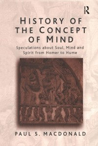 Cover History of the Concept of Mind