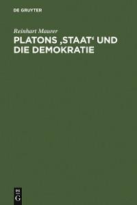 Cover Platons 'Staat' und die Demokratie