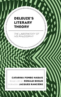 Cover Deleuze's Literary Theory
