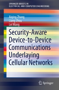Cover Security-Aware Device-to-Device Communications Underlaying Cellular Networks