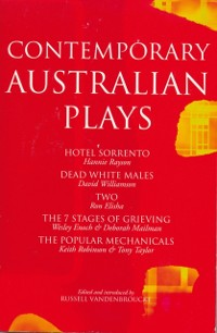 Cover Contemporary Australian Plays
