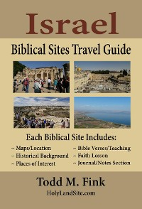 Cover Israel Biblical Sites Travel Guide