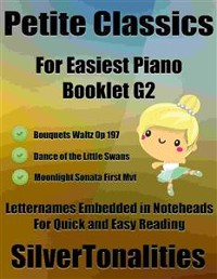 Cover Petite Classics for Easiest Piano Booklet G2