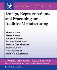 Cover Design, Representations, and Processing for Additive Manufacturing
