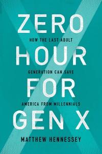 Cover Zero Hour for Gen X