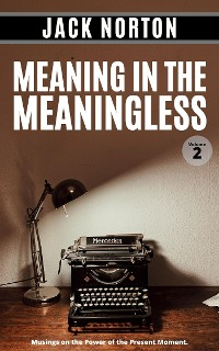 Cover Meaning In The Meaningless, Volume 2