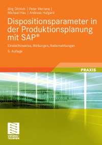 Cover Dispositionsparameter in der Produktionsplanung mit SAP®