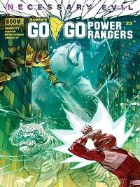 Cover Saban's Go Go Power Rangers, Issue 23