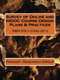 Cover Survey of Online and MOOC Course Design Plans & Practices