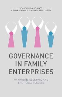 Cover Governance in Family Enterprises