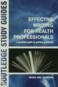 Cover Effective Writing for Health Professionals