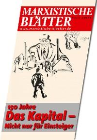 Cover 150 Jahre DAS KAPITAL– Nicht nur für Einsteiger
