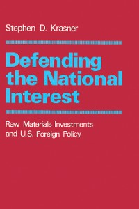 Cover Defending the National Interest