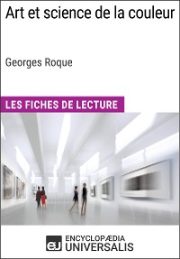 Cover Art et science de la couleur de Georges Roque