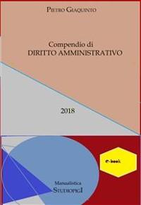 Cover Compendio di DIRITTO AMMINISTRATIVO