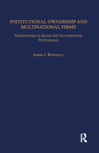 Cover Institutional Ownership and Multinational Firms