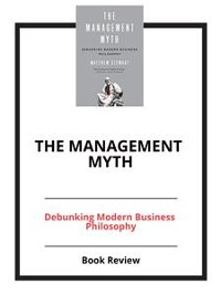 Cover The Management Myth