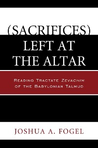 Cover (Sacrifices) Left at the Altar