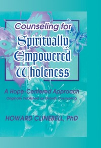 Cover Counseling for Spiritually Empowered Wholeness
