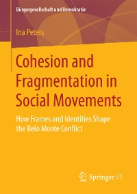 Cover Cohesion and Fragmentation in Social Movements