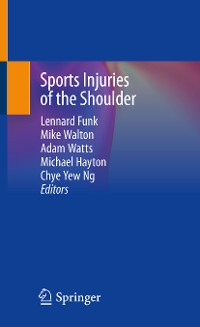 Cover Sports Injuries of the Shoulder