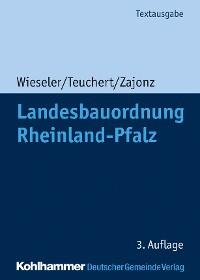 Cover Landesbauordnung Rheinland-Pfalz