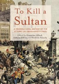 Cover To Kill a Sultan