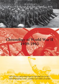 Cover Chronology of World War II 1939-1945