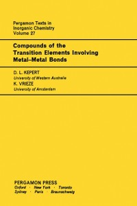 Cover Compounds of the Transition Elements Involving Metal-Metal Bonds