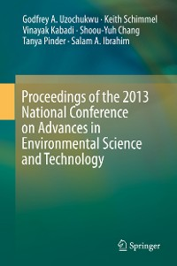 Cover Proceedings of the 2013 National Conference on Advances in Environmental Science and Technology