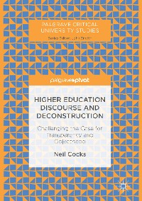 Cover Higher Education Discourse and Deconstruction