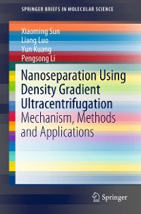 Cover Nanoseparation Using Density Gradient Ultracentrifugation