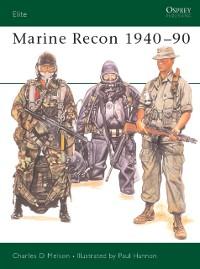 Cover Marine Recon 1940 90