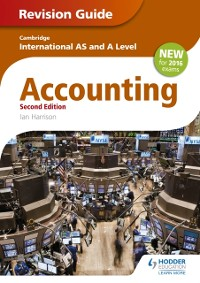 Cover Cambridge International AS/A level Accounting Revision Guide 2nd edition