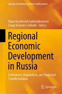 Cover Regional Economic Development in Russia