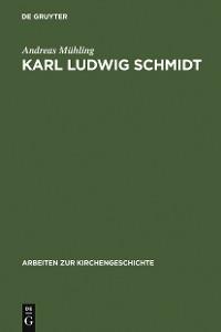 Cover Karl Ludwig Schmidt