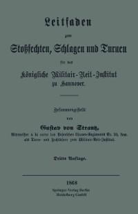 Cover Leitfaden zum Stosechten, Schlagen und Turnen fur das Konigliche Militair-Reit-Institut zu Hannover