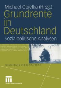 Cover Grundrente in Deutschland