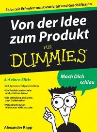 Cover Von der Idee zum Produkt für Dummies
