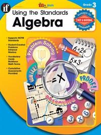 Cover Using the Standards - Algebra, Grade 3