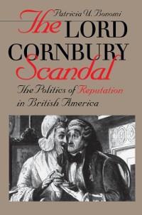 Cover Lord Cornbury Scandal