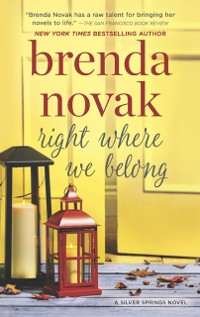 Cover Right Where We Belong (Silver Springs, Book 4)