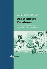 Cover Das Weinberg-Paradoxon