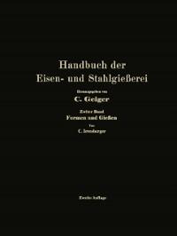 Cover Handbuch der Eisen- und Stahlgieerei