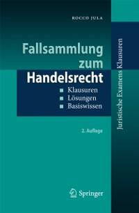 Cover Fallsammlung zum Handelsrecht