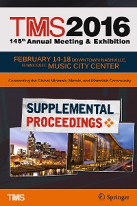 Cover TMS 2016 145th Annual Meeting & Exhibition, Annual Meeting Supplemental Proceedings