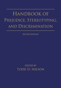 Cover Handbook of Prejudice, Stereotyping, and Discrimination