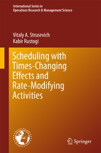 Cover Scheduling with Time-Changing Effects and Rate-Modifying Activities
