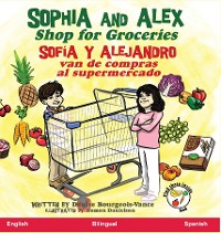 Cover Sophia and Alex Shop for Groceries