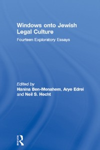 Cover Windows onto Jewish Legal Culture